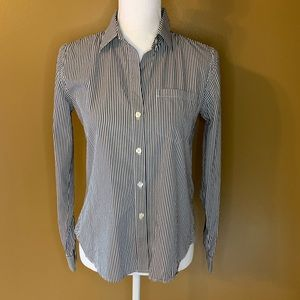Theory Striped Button Down
